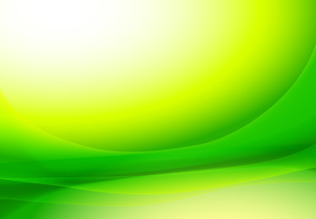 abstract wavy texture green