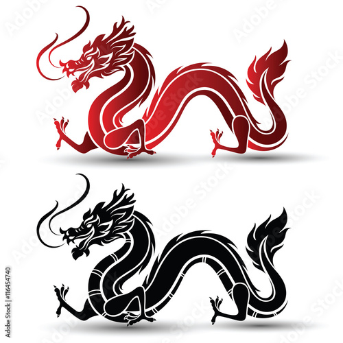 chinese dragon vector stock image and royalty free vector files on rh fotolia com chinese dragon victory dance hypixel bedwars chinese dragon vector png