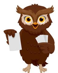 Owl Flash Cards