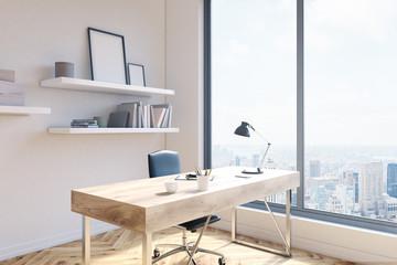 Office workspace side