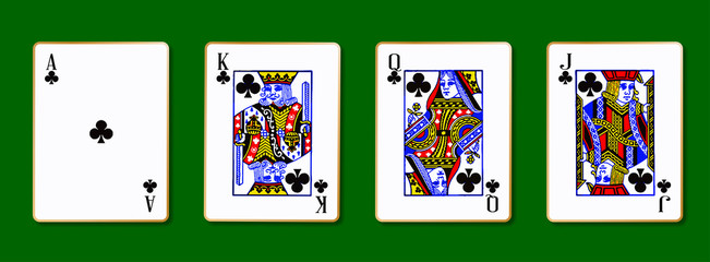 The Royal Clubs Cards