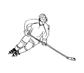 Hockey player design