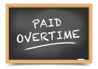 Blackboard Paid Overtime