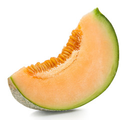 Orange melon isolated