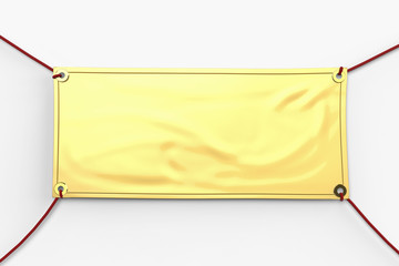 Search Photos Golden Banner - Blank vinyl banners