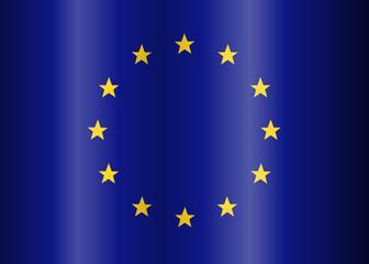 waves European Union Flag (EU)