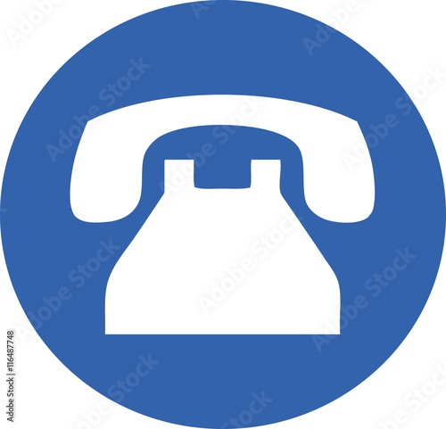 quottelephone icon old phone business call support