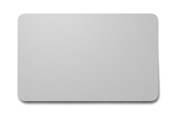 blank plastic card