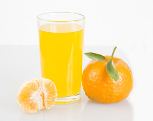 Delicious and nutritious tangerine juice