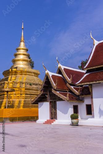 Chom Thong Thailand  city photo : Phra That Si Chom Thong Vora Vihan pagoda, Chiangmai, Thailand