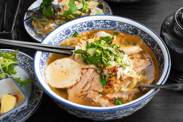 vietnamese pho tom yum - asian soup