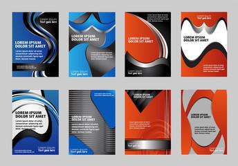 brochure/flyer design set