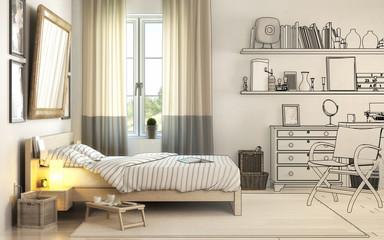 Schlafzimmereinrichtung (Planung)