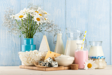 Printed roller blinds Dairy products Dairy products