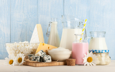 Wall Murals Dairy products Dairy products