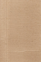 Brown flat plane paper background with gray stripe column line, sepia banner