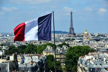 Foto auf Gartenposter Paris panorama parisien