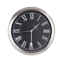 Clock shows half of the second