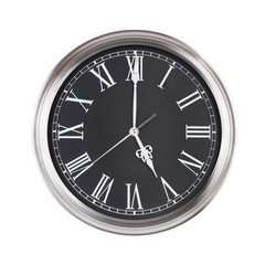 Five hours on a clock face