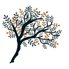 Isolated vector tree