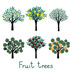 Fruit trees set
