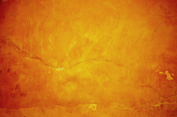 Abstract grunge background in red and yellow colors