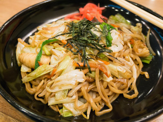Yakisoba, japanese fried noodle
