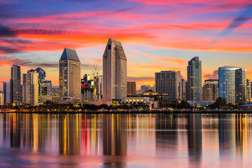 San Diego, California Skyline