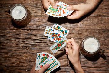 kartenspiele mit jasskarten