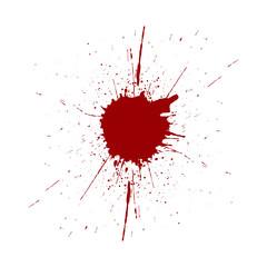 vector splatter red color background. illustraitttion