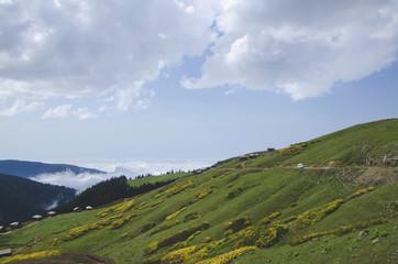 villaggio in montagna