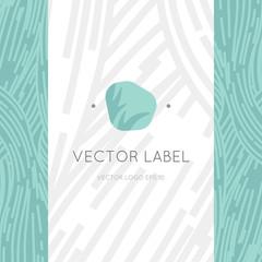 healthy logo design, yoga life style, trendy and friendly logo symbol.