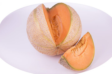melon Charentais découpé