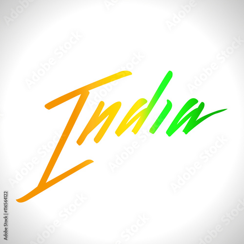 Vector illustration for the India Independence Day. Greeting card ...