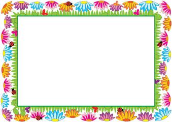 Colored frame for children