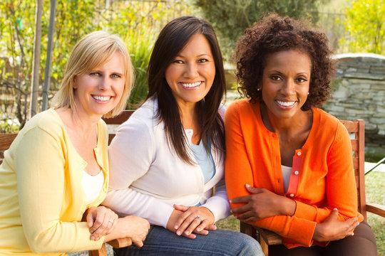 Portrait of a diverse group of women.