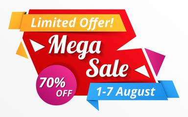 Papier Peint - Mega Sale Banner