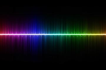 techno rainbow background - photo #21