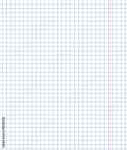 u0026quot exercise book in a cage and red margin  paper sheet