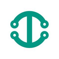 Lettering logo vector