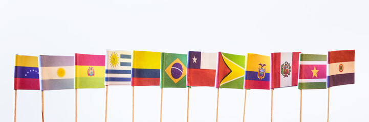 flags of unasur