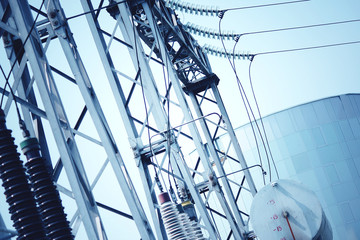 Power transformer substation. Technology landscape.