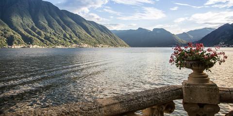 Bellagio town on Como Lake