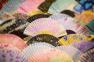 Japanese souvenir fans