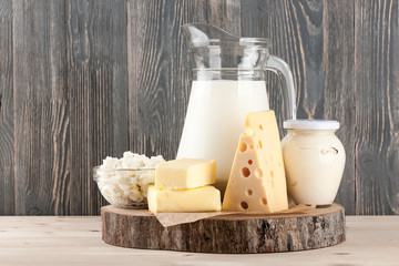 Self adhesive Wall Murals Dairy products Dairy products