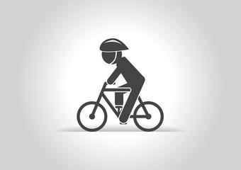 Ecology  cycling icon.