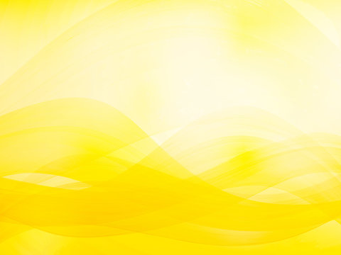 abstract wavy background yellow