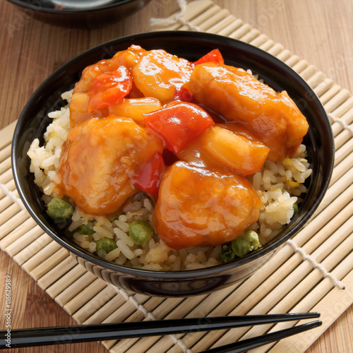 how to make sweet and sour chicken chinese style