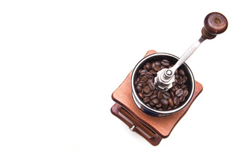 Coffee Grinder On a white background