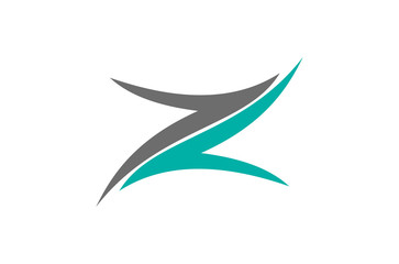 abstract letter Z logo